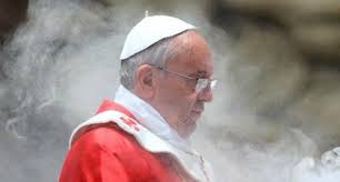 Image result for pope francis evil