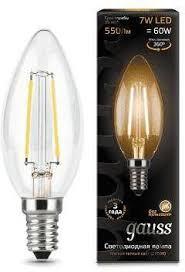Купить <b>Лампа GAUSS Filament</b> Свеча, 1 шт. в интернет-магазине ...