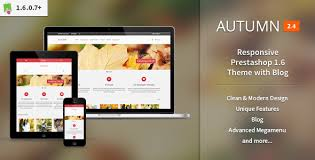 <b>Autumn</b> - Responsive Prestashop 1.6 Theme with Blog by srcn ...