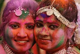 beautifully colourful images of the hindu festival of holi  25 beautifully colourful images of the hindu festival of holi 2014 pictures the huffington post