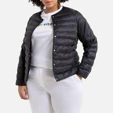 <b>Куртка стеганая</b> легкая черный <b>La Redoute</b> Collections Plus | La ...