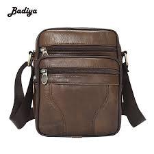 women vintage barrel shaped real leather one shoulder bag