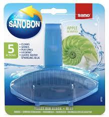 Sano <b>подвеска для унитаза</b> Sanobon Rim Block Blue apple ...