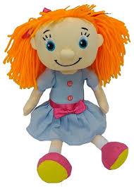 <b>Мягкая игрушка Maxitoys Кукла</b> Подружка Рыжая озвученная 25 см