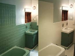 reglazing tile certified green: paint bathtub tile a bathroom design