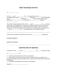 rent increase letter template notice to raise monthly rent rent increase letter template notice to raise monthly rent fillable forms