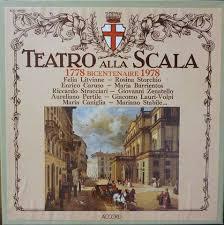 「teatro alla scala 1778」の画像検索結果