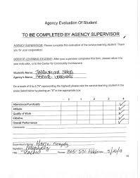 Community service student essay