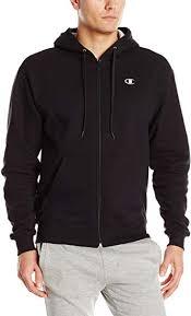 Champion Men's Full-zip Eco Fleece Hoodie Jacket ... - Amazon.com