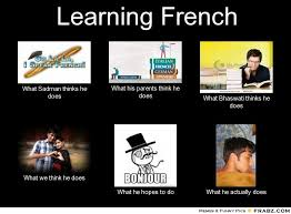 Learning French... - Meme Generator What i do via Relatably.com
