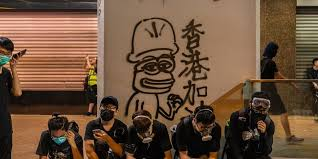 Alt-right symbol <b>Pepe the Frog</b> is the face of the Hong Kong protests ...