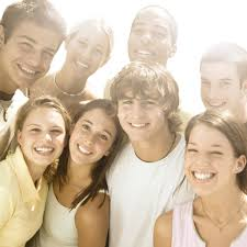 careers guidance services to schools smiling teenagers after careers interventions