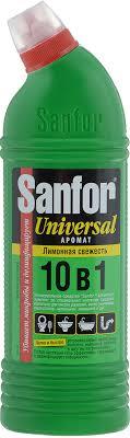 """<b>Средство</b> для чистки и дезинфекции <b>Sanfor</b> """"Universal"""", <b>10</b> в 1 ..."""
