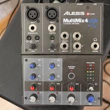 <b>Микшерный пульт Alesis</b> MultiMix 4 USB – купить в Москве, цена 5 ...