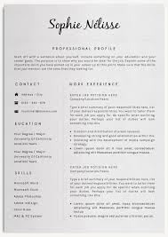 professional resume template by creativelab on creativemarket modern professional resume templates