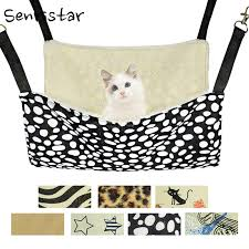 Soft Plush Hanging Pet Cat Bed Mat Winter <b>Warm Cotton Cat</b> ...