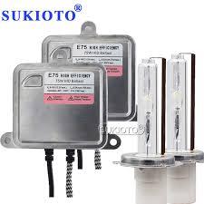 <b>SUKIOTO Xenon</b> H7 <b>HID</b> 24V 75W <b>HID Headlight Kit</b> H1 D2H H3 ...
