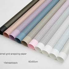 <b>20pcs</b> Crepe Paper <b>60x60cm</b> Black Snow Pear Craft Paper Floral ...