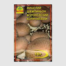 <b>Мицелий гриба</b> «<b>Шампиньон</b> королевский <b>коричневый</b>», ТМ ...