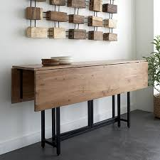 expandable dining table ka ta: origami drop leaf dining table crate and barrel open xx