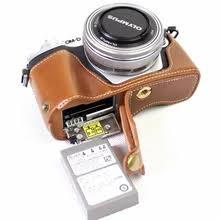 leather half camera <b>case bag cover olympus</b> — купите leather half ...
