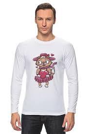"Лонгслив ""<b>Романтика</b>. Парные футболки"" #659802 от ..."