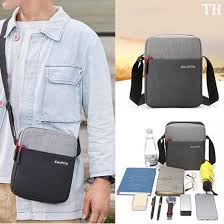 TH-Men Diagonal Mini Shoulder <b>Multi</b>-<b>Function Mobile Phone</b> Bag ...