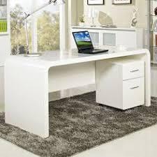 aspen home office desk computer desks high gloss white buy office computer desk furniture