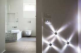 lights modern bathroom interiors pinterest beautiful modern bathroom decoration with led ceiling lighting ideas beautiful bathroom lighting ideas