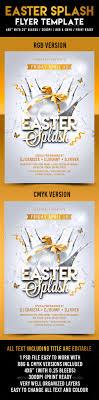 easter splash flyer template by crabsta graphicriver easter splash flyer template holidays events