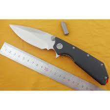 Hot Promo #e916 - LOVOCOO Flip Folding Knife <b>D2</b> Blade <b>G10</b> ...