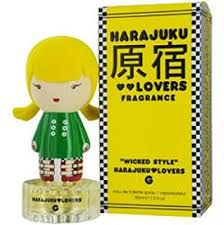 <b>HARAJUKU LOVERS WICKED</b> STYLE G by Gwen Stefani EDT ...