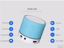 Мини <b>Bluetooth</b> колонка с микрофоном стерео звук Поддержка ...