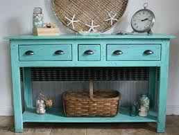 revived by delia beach theme nautical furniture redo of a sofa table beach theme furniture 1000