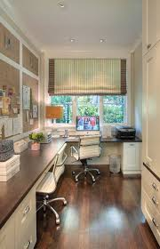 home office traditional with built in cabinets built in desk built desk small home office
