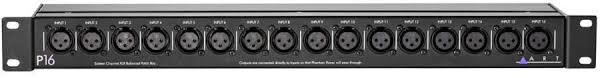 ART Pro <b>Audio 16-Channel XLR Balanced</b> Patch Bay - Long ...