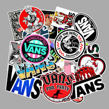 <b>100 Pcs Fashion</b> Vans Stickers for Laptop- Buy Online in Fiji at ...