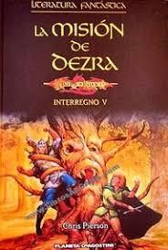 portada del libro La misión de Dezra, de Chris Pierson