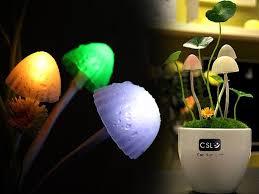 avatar led sensor mushroom night light crazysalesconz crazy deals bedroom lighting ideas nz