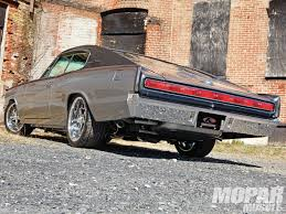 1966 dodge charger restomod wedgeback hot rod network underneath reilly motorsports high tech suspension joins a big tti magnaflow