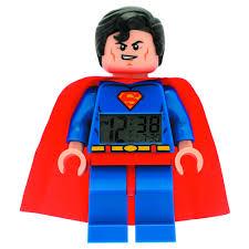 "<b>Будильник DC</b> Super Heroes ""Superman"" бренда <b>LEGO</b> – купить ..."
