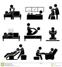 massage spa therapy wellness aromatherapy icon royalty stock massage spa therapy wellness aromatherapy icon