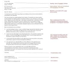 online technical writing business correspondence overview block letter format