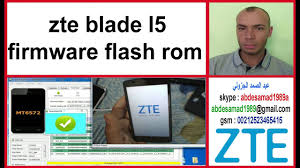 zte blade l5 firmware flash rom update 5.1 android - YouTube