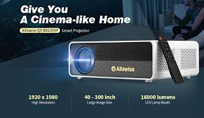 <b>Alfawise Q9</b> 4K Smart Projector For Just $184.99 [Coupon Deal]