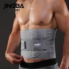 <b>JINGBA SUPPORT</b> fitness sports <b>waist</b> back <b>support</b> belts sweat <b>belt</b> ...