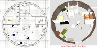 Stone Table Farm  House Plans   The Great UnveilingRound House          diameter  Second Floor