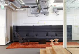 contemporary sofa fabric for public buildings by ronan erwan bouroullec alcove vitra alcove office