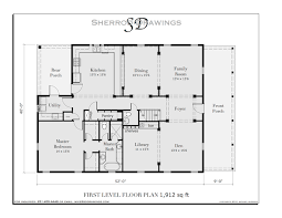 Sherrod Drawings  Haunted  quot Gingerb quot  house  plans Sherrod Drawings
