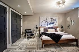 easy tips to help create the perfect basement bedroom bedroom sweat modern bed home office room